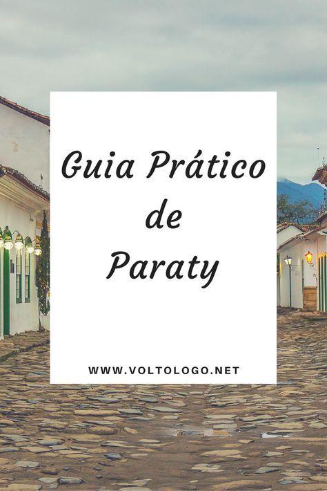 Guia prático (e completo) de Paraty