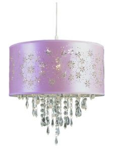 Large Purple Ceiling Light Shades