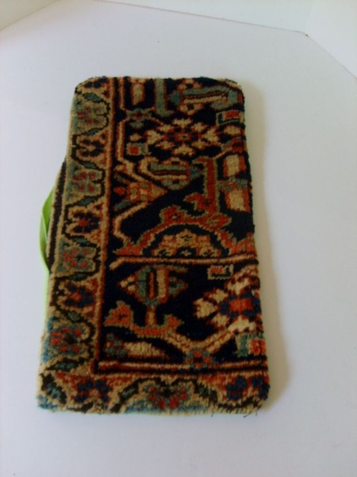 Pillow Cover Only Made From Antique Persian Serapi Carpet Ca 1920 11 X