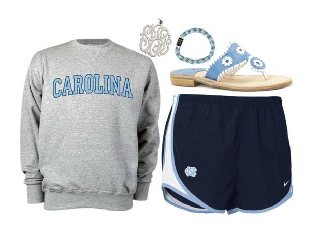 unc chapel hill tarheels outfit YEAHUS! GIMME GIMMEE!