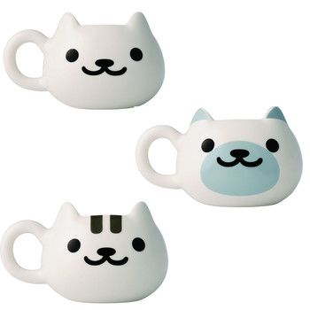 picture of Neko Atsume Face Mugs 1