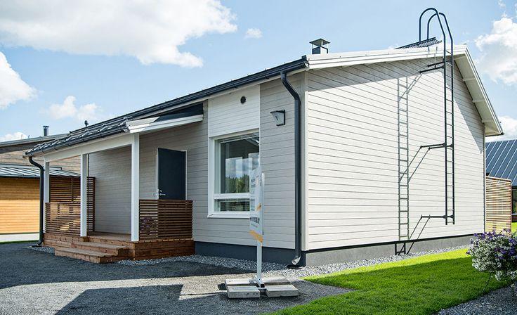Pienet talot on suunniteltu edullisiksi ja muuntautumiskykyisiksi.
