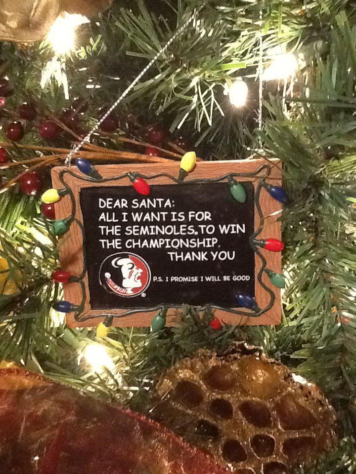 FSU Tree Ornament