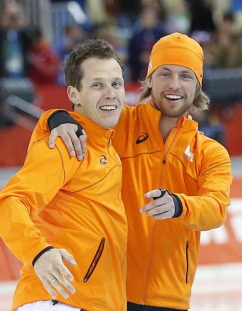 Goud voor Stefan Groothuis en Brons voor Michel Mulder op de 1000 meter in Sochi!