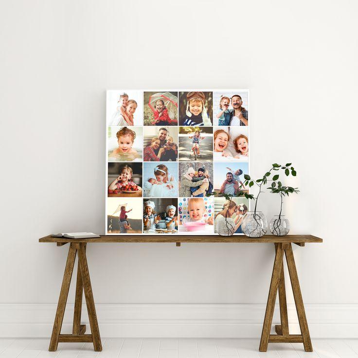 Vijf ontwerptips voor een Fotocollage op Canvas