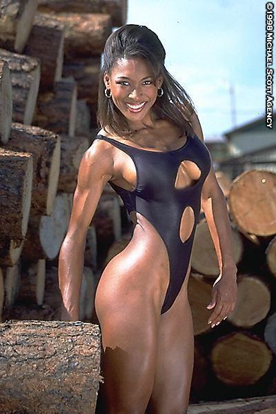 Muscular ebony women naked