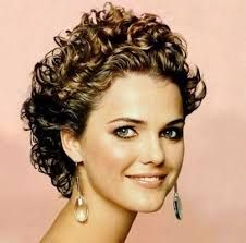Billedresultat for very short curly hairstyles 2015