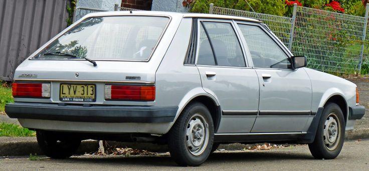 1980-82 Mazda 323 (BD) Hatchback