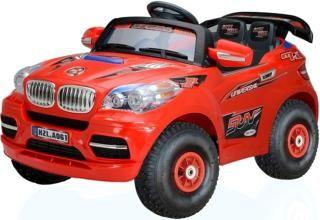 Rich Toys A061 BMW X8  — 15700р. ------------------------------- Детский электромобиль Rich Toys A061 BMW X8. Катание по пересеченной местности - это не только увлекательно, но и познавательно. Ведь при катании по бездорожью ребенок тренирует координацию движений в пространстве, продумывает следующие движения и взвешивает свои возможности. С помощью такого катания, ребенок познает окружающую среду, окружающих людей и возможные действия. Малыши начинают осознавать, что поворот руля в…