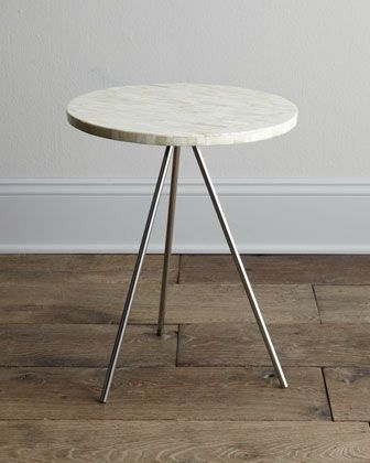 """""""Bryn Mawr"""" Side Table by Regina-Andrew Design at Neiman Marcus. $289 + 33 nieman marcus"""