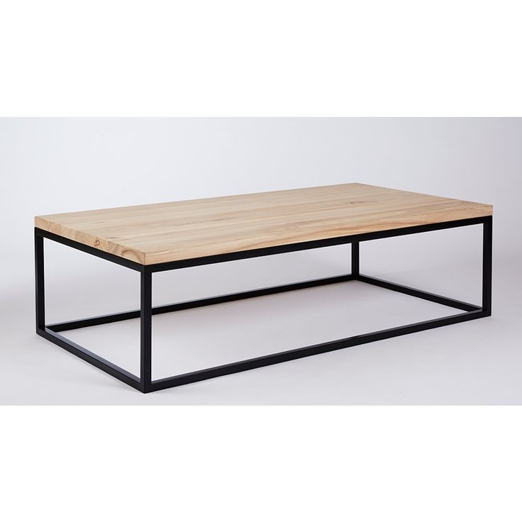 The Max Industrial Wooden Coffee Table | Urban Couture - Designer Homewares & Furniture Online