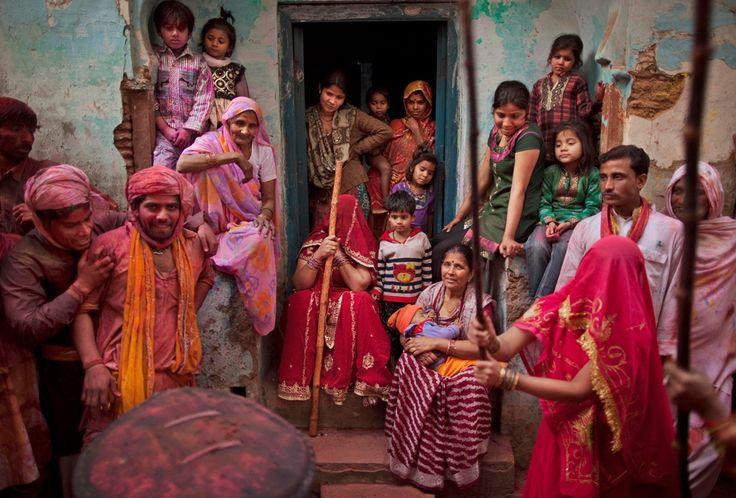 Lathmar Holi festival