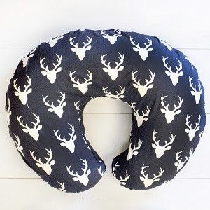 Made to fit the following nursing pillow cover: http://amzn.to/2hddbhV Covers are serged along the insides edges for durability. Comes with a 23 inch white zipper on the back and fits much better and