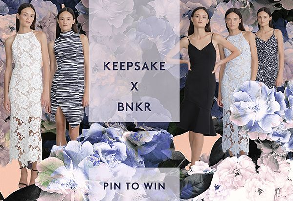 PIN TO WIN!!! Create your BNKR DREAM FORMAL Pinterest board for the chance to win your dream dress thanks to BNKR + Keepsake The Label. HOW TO WIN: 1. Follow /fashionbunker on Pinterest 2. Create your BNKR DREAM FORMAL board 3. Repin our competition tile to your board Simple as that! Winner announced 24/7/15. #BNKR #keepsakethelabel #WIN #formal #dress #dream