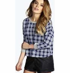boohoo Tartan Sweatshirt - multi azz14158 Make your top pop this season with sporty, baseball-style basic tees in quilted finishes with ribbed, stripe trims. Crew necks come in block colours, crop tops with mesh inserts and long sleeve jersey http://www.comparestoreprices.co.uk/womens-clothes/boohoo-tartan-sweatshirt--multi-azz14158.asp