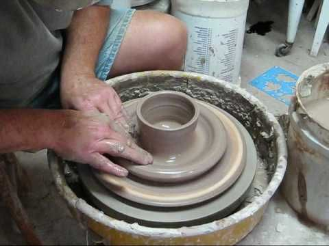 MAKING A ONE PIECE CHIP AND DIP BOWL.  These are lots of fun to make!