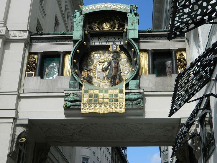 Anker Uhr in Wien