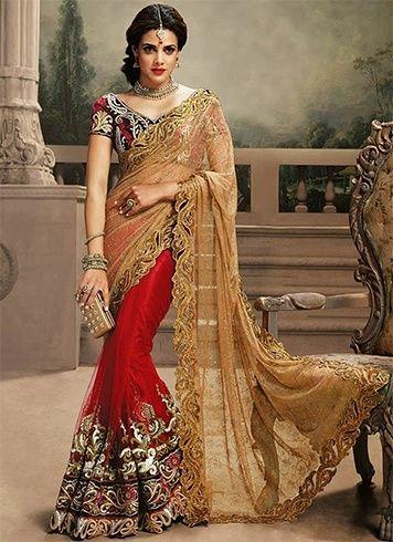 30 Best Wedding Sarees Images On Pinterest