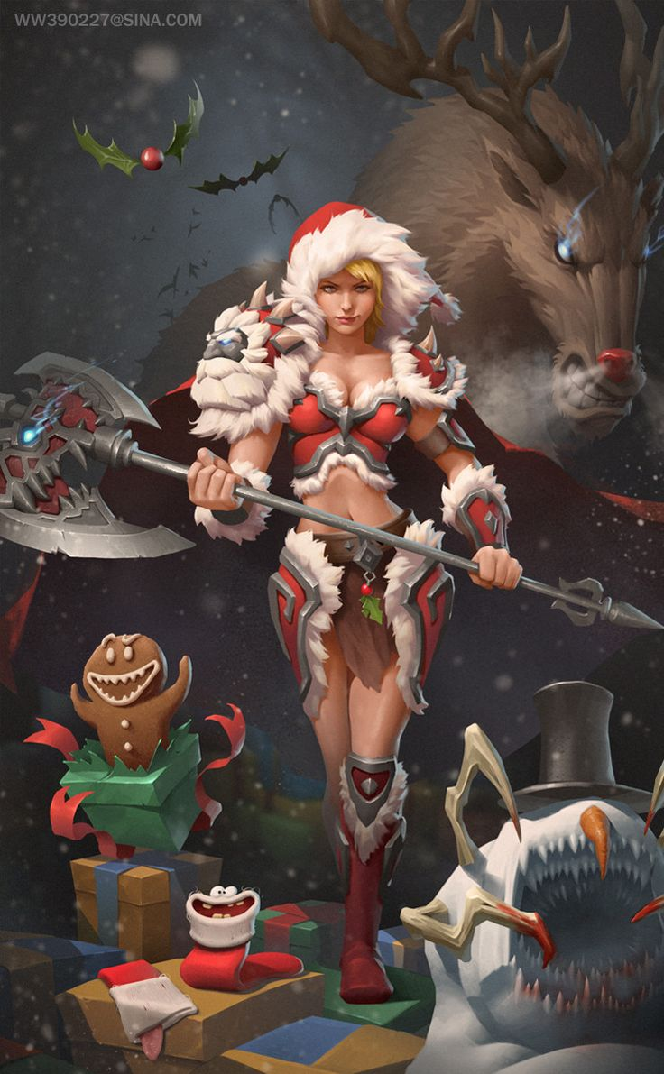 Merry Christmas, Wayne Wu on ArtStation at www.artstation.co… – Ismet Taskesen