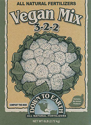 Down To Earth 6-Pound Vegan Mix 3-2-2