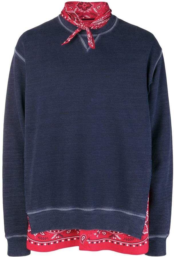 Dsquared2 Bandana Sweatshirt