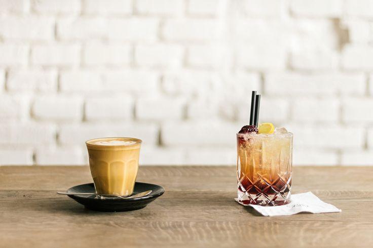 Bramble | cocktail | drink | flat white | coffee | cafe | SKØG Urban Hub | Brno