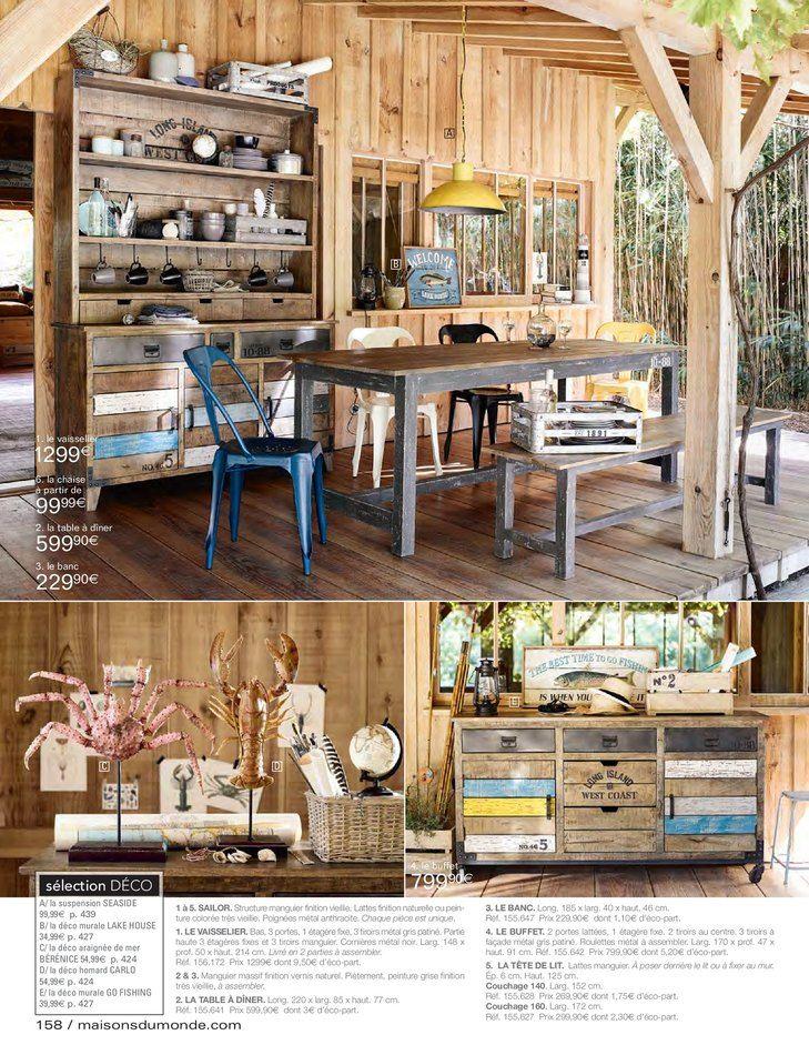 free catalogue et promotions de maisons du monde with. Black Bedroom Furniture Sets. Home Design Ideas