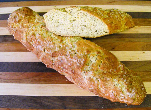 gluten free baguette recipe from Diane Kittle - can be made egg-free too!