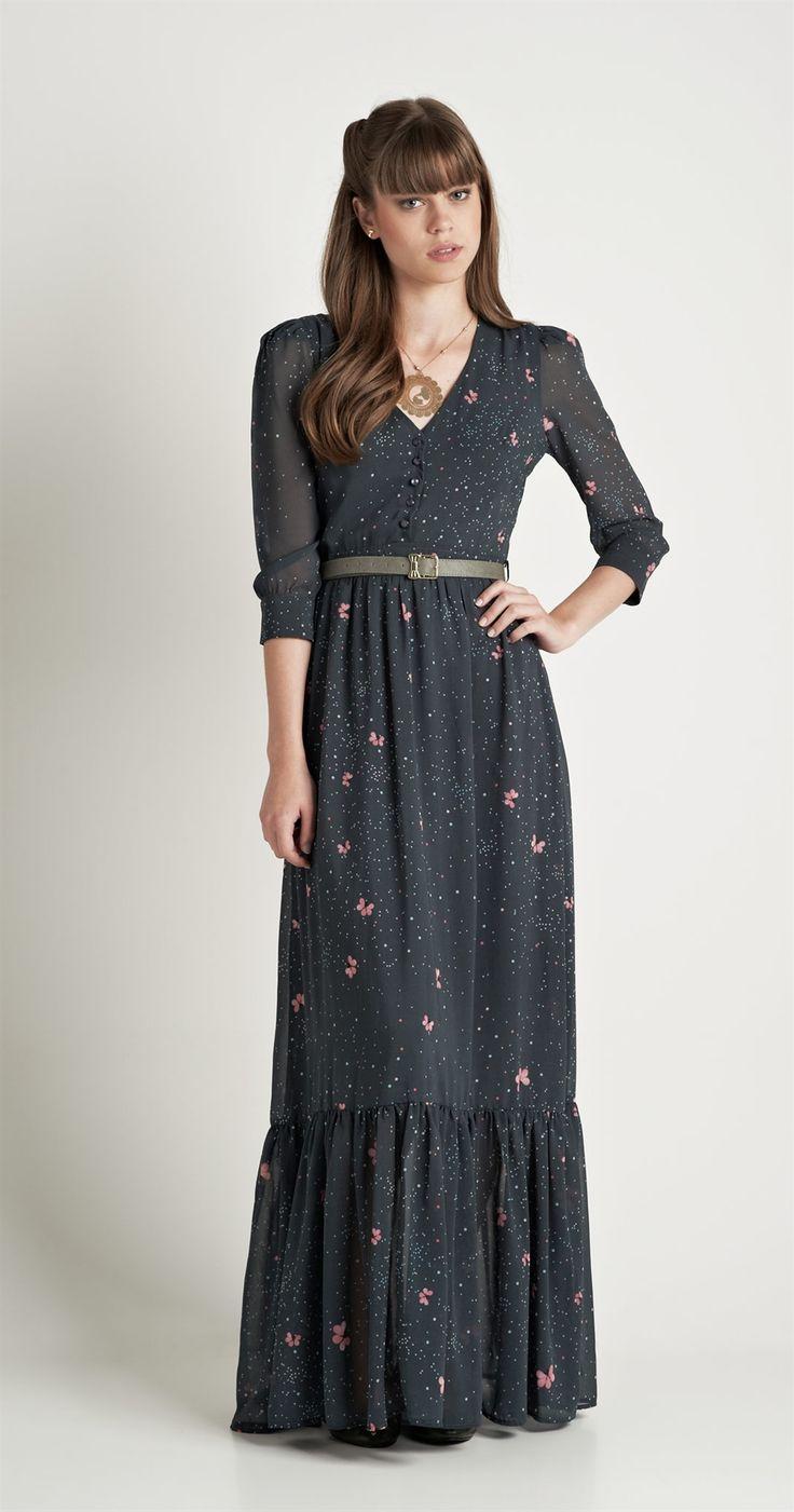 Vestido Longo Borboflor | Antix Store
