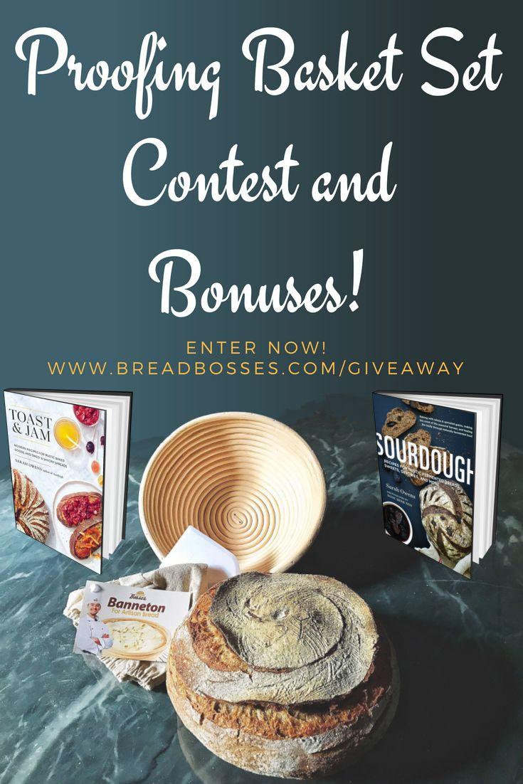 Win a Banneton, Books, & Bonuses for FREE!