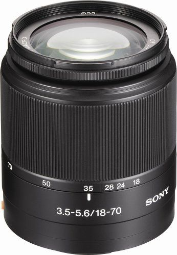 Sony DT 18-70mm f/3.5-5.6 Aspherical ED Standard Zoom Lens for Sony Alpha Digital SLR Camera Sony http://smile.amazon.com/dp/B000DZH7TO/ref=cm_sw_r_pi_dp_-Z5Ktb1KZZ0F3CVF
