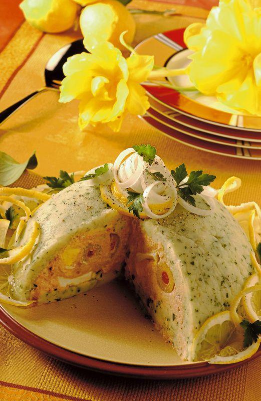Sformato freddo di patate con tonno e maionese