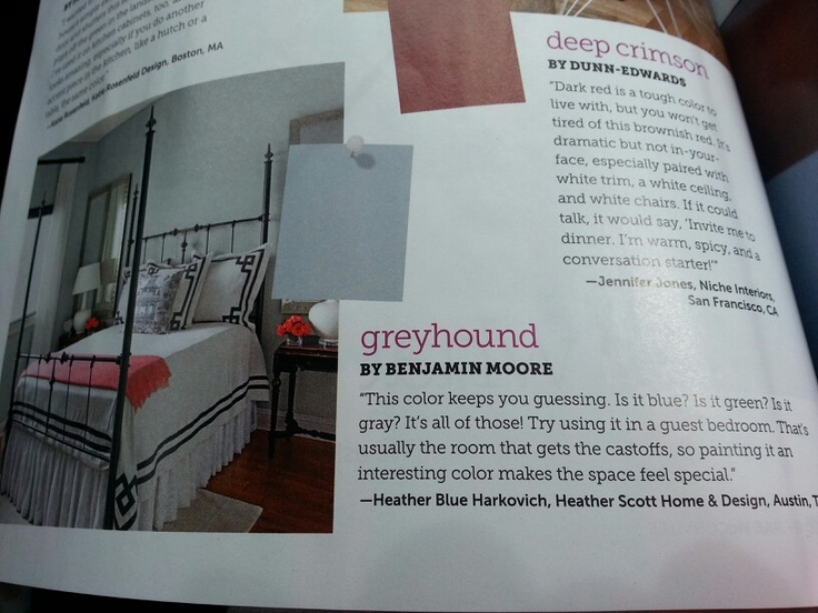 Greyhound By Benjamin Moore Home Paint Colors