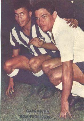 Jairzinho y Garrincha