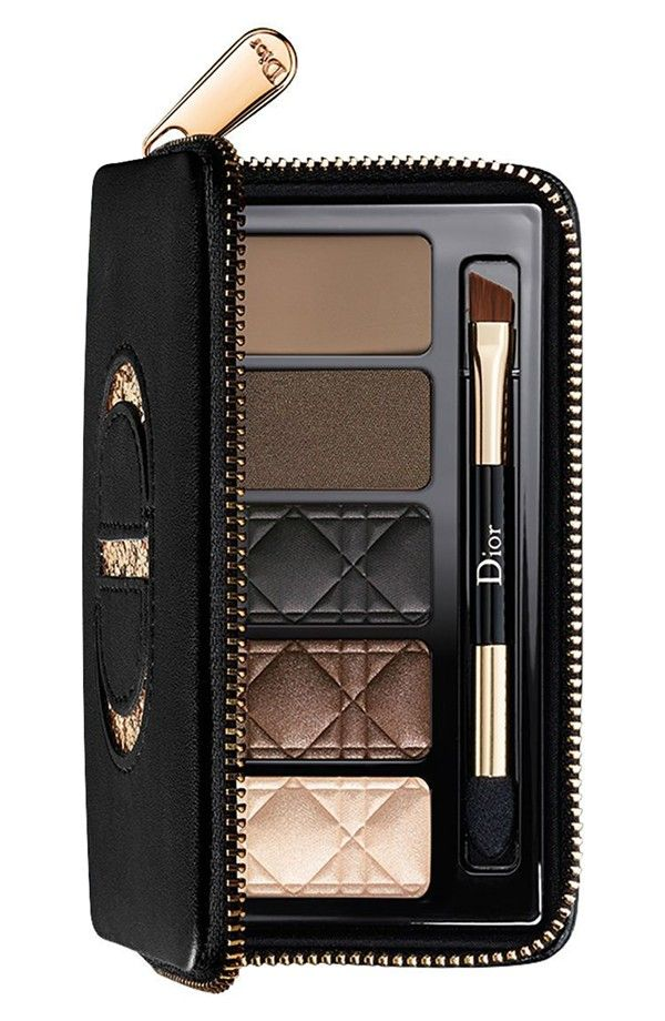 dior total matte - smoky glow palette for eyes & brows
