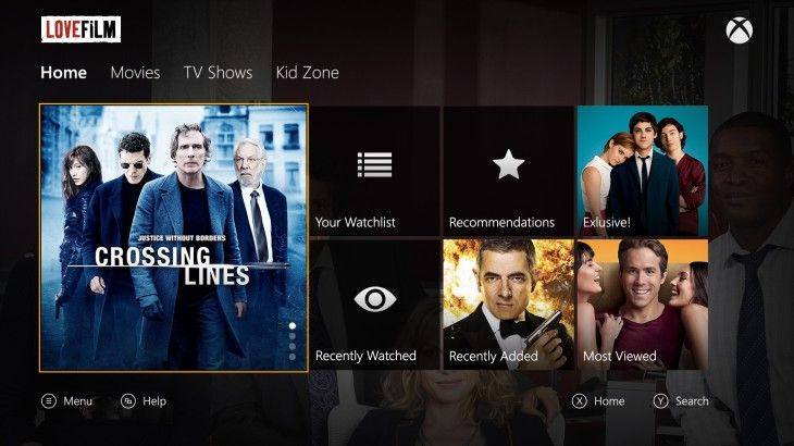 Lovefilm app now available to download for early Xbox One adopters