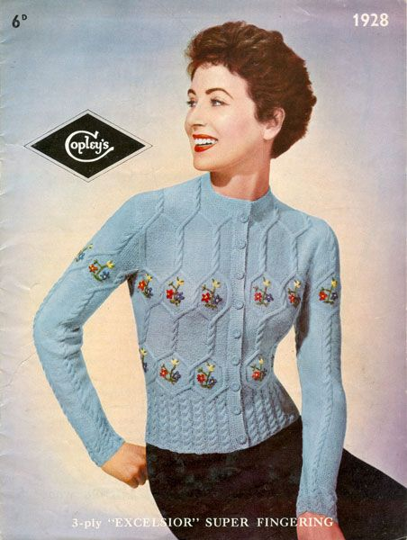 127 Best Vintage Knitting Patterns Images On Pinterest Knitting