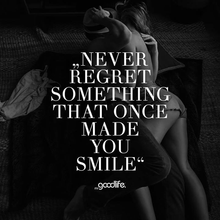 Never Regret Anything That Made You Smile Quote Tattoo: 333 Best Images About Ex Boyfriend On Pinterest