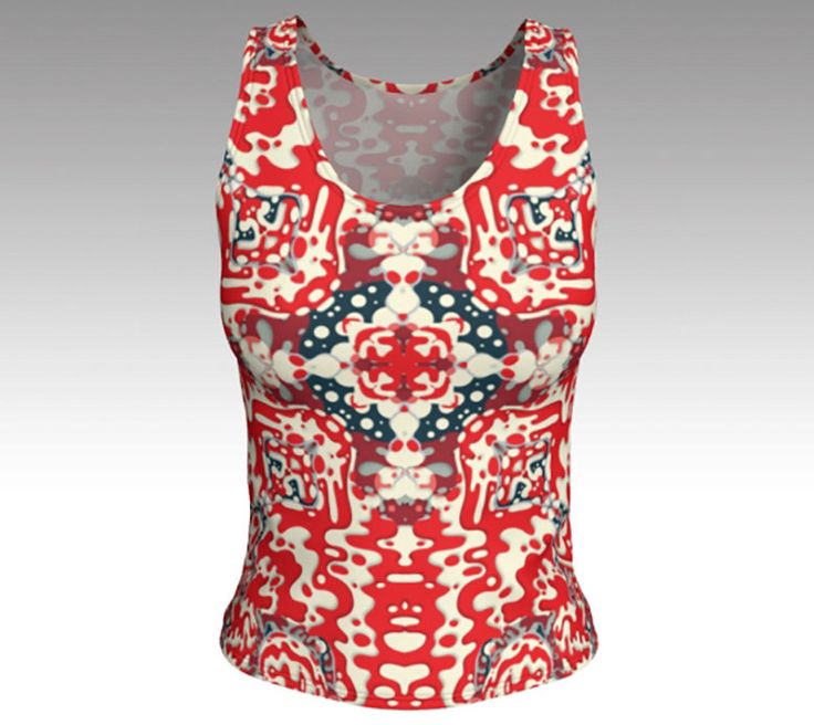 Excited to share the latest addition to my #etsy shop: Tank Tops, Tanks, Red Bandanna Tank Top, Red, White and Blue Tank Top, Women's Tops, Tops, Athletic Top, Yoga Top, Exercise Top, Gifts