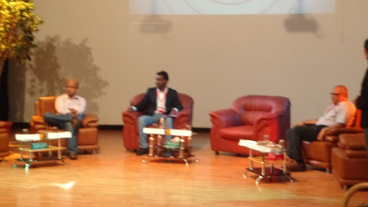 Cross Channel Marketing in Symbiosis Institute Bangalore Panel Discussion