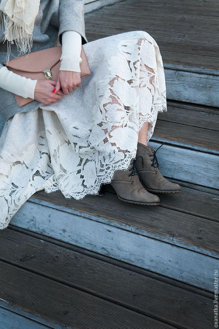 Купить Валяная юбка Метелица - авторская ручная работа, нуновойлок, юбка длинная, юбка нарядная