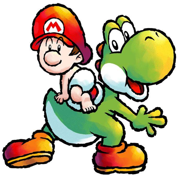 Yoshi Character Design : Yoshi baby mario character design cartoon