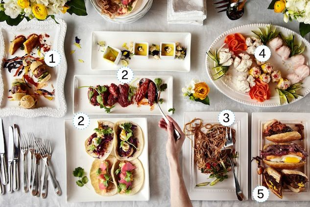 """""""Conventional Wisdom - Serving Buffet-style is tacky""""  Check out our tasty late night sandwiches - #5  PHOTO: REENA NEWMAN/THE GRID"""