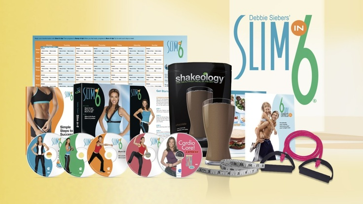 Save $30-$60 and more + FREE SHIPPING on Beachbody Challenge Packs NOW including Shakeology & the Slim In 6 workout created by Debbie Siebers
