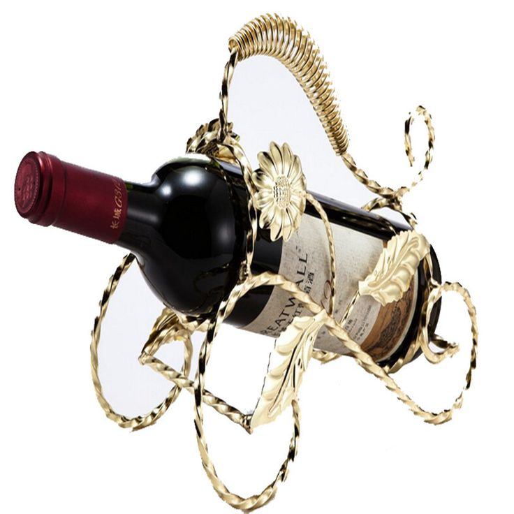 Новый утюг вино держатели 1/pc подсолнечное форма винные шкафы Европа стиль главная бар пивной держатели кухонные принадлежности бесплатная доставка доставка У-64