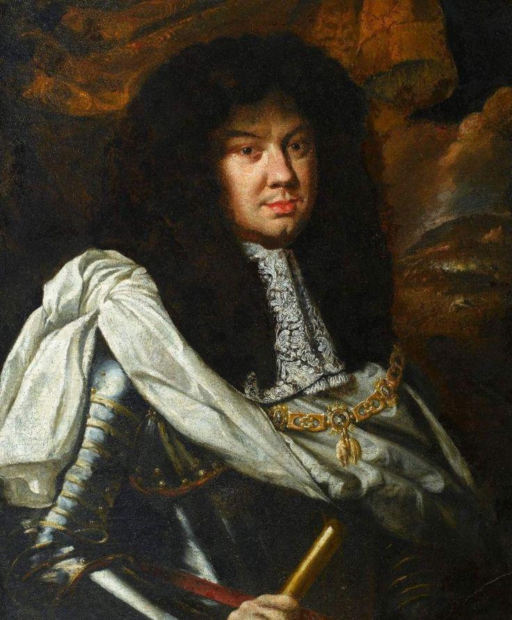 Portrait of Michael Korybut Wiśniowiecki by workshop of Daniel Schultz, ca. 1670 (PD-art/old), Muzeum Pałacu Króla Jana III w Wilanowie