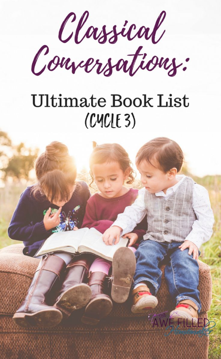 Alrighty! Here it is! Our ultimate list of books for Classical Conversations cycle 3!!! Let the planning for your homeschool year begin! via @AFHomemaker