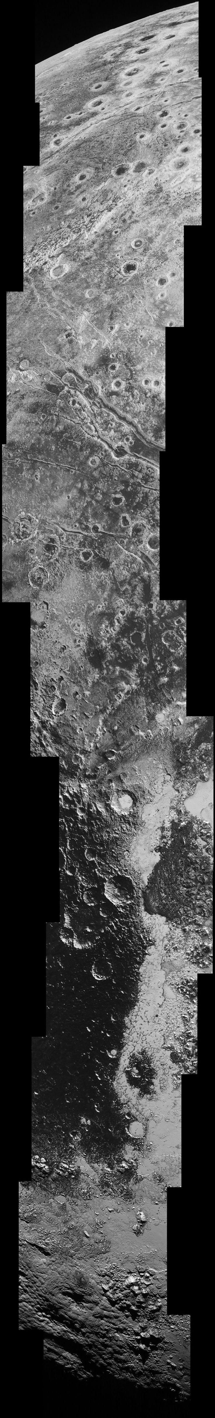 Une nouvelle image impressionnante de Pluton