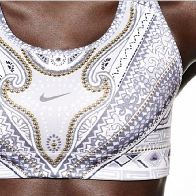 Nike Sports Bra♥ Love this pattern! #bra