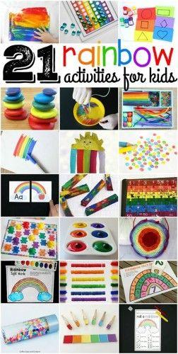 Rainbow tevékenységek gyerekeknek - DIY Abacus szivárványos matematikai